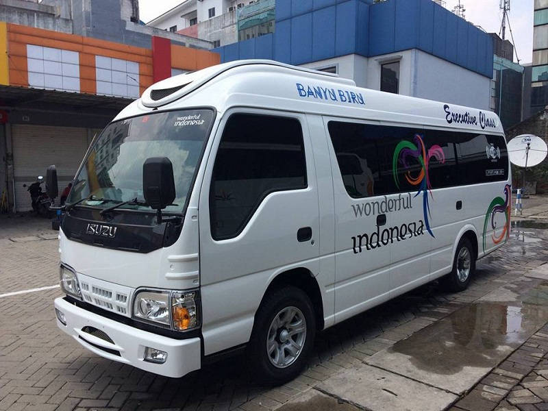 Rental Elf Purwokerto Executive Class Termurah Lotus Transport