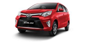 Rental Mobil Toyota Calya