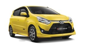 Rental Mobil Toyota New Agya